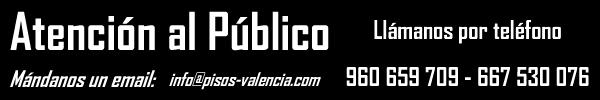 Contactanos Comprar y Vender tu piso en Valencia Capital y provincia