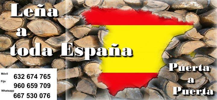 Vendo leña en palets. Para cocina y Calefacción. Envio puerta a puerta a toda España en formatos de 1M3 y 1. 5 M3. Madrid: 1M3 precio: 188€ – 1. 5 M3 precio: 238€ — Barcelona: 1M3 precio: 192€ – 1. 5M3 precio: 242€ — Valencia: 1M3 precio: 170€ – 1. 5M3 precio: 220€ — Castellón: 1M3 precio: 170€ – 1. 5M3 precio: 220€ — Alicante: 1M3 precio: 194€ – 1. 5M3 precio: 244€ — Baleares: Precios de 1, 5 M3 : Naranjo: 280€ Encina: 355€ Precio + iva. Varia según destinos. Visita la web: www. leñavalencia. com